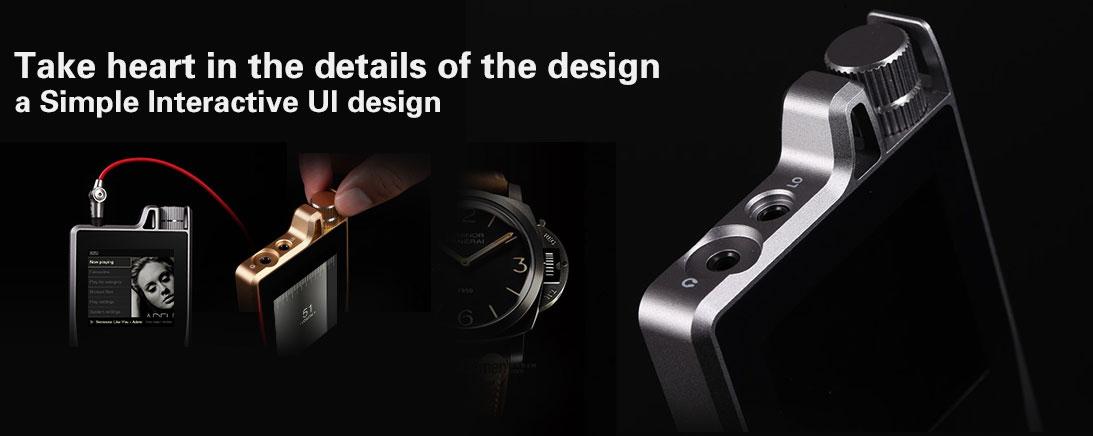 Questyle QP1r UI Design