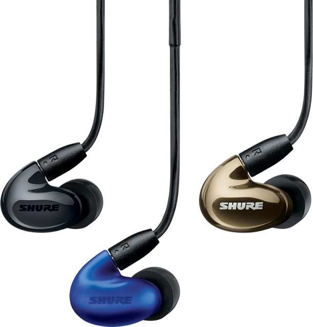 Shure Earphone Collection