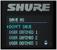Shure KSE1500 tutorial step 7