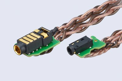 cable balanced connection detail