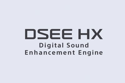 DSEE HX Digital Sound Enhancement Engine