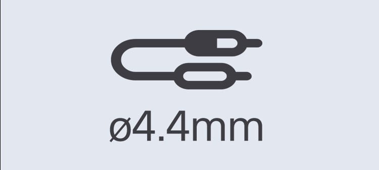 4.4mm balanced connection