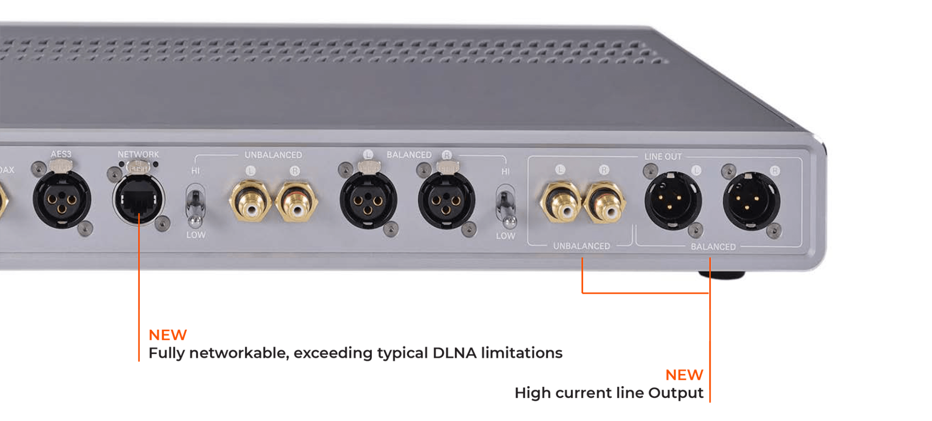 Warwick Aperio with new fully networkable DLNA limitations and high current line output