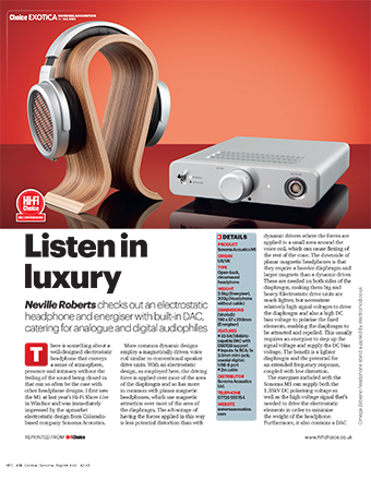 Hifi Choice Review