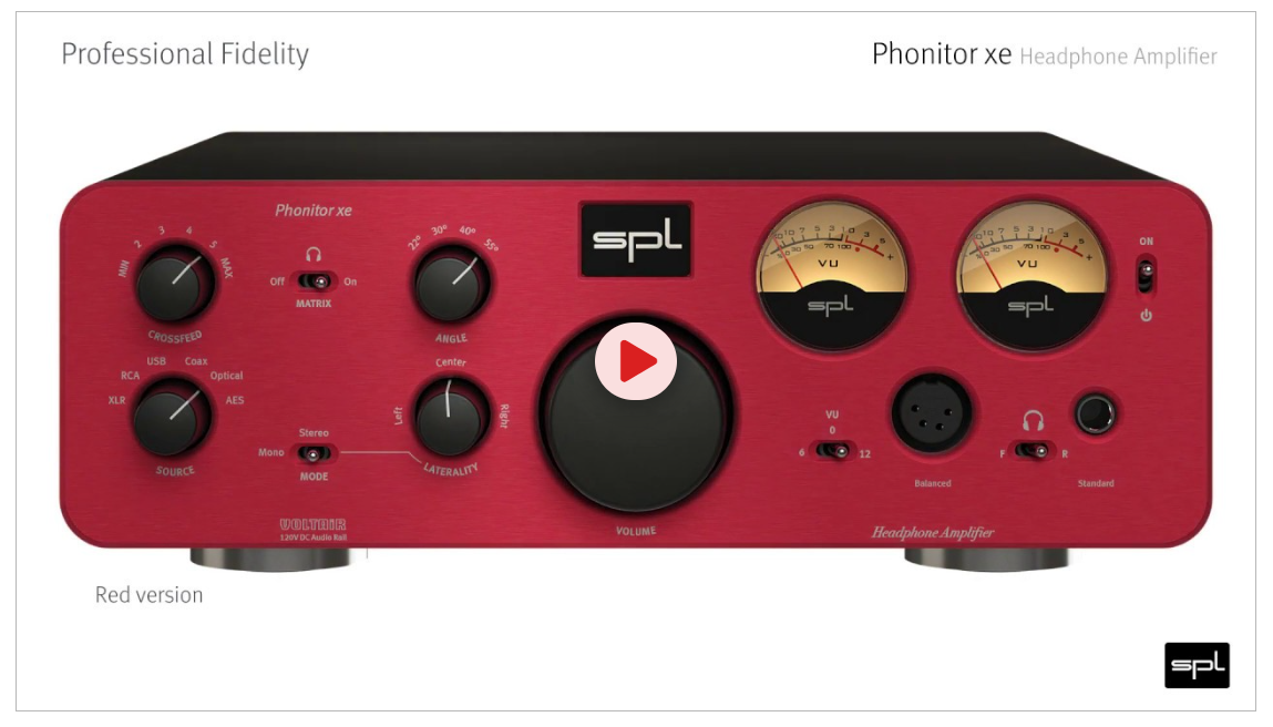 step by step through Phonitor xe