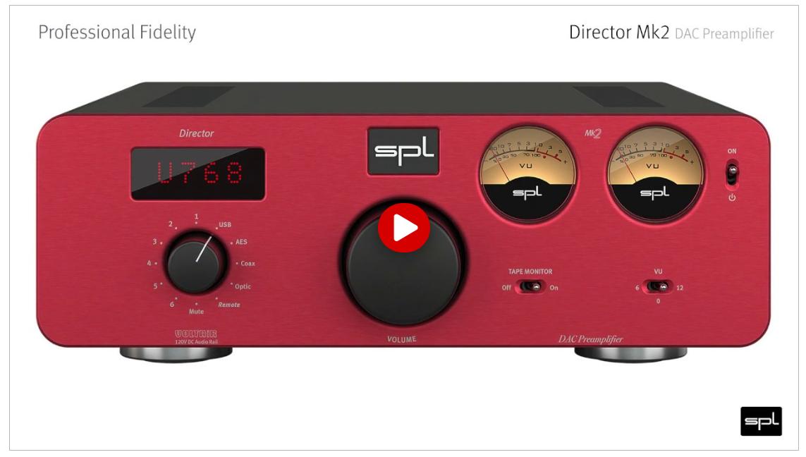 SPL Director Mk2 | Video Manual