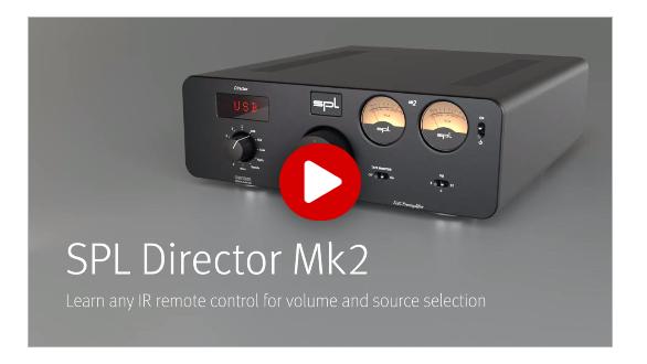 Director Mk2 – Learn IR remote control