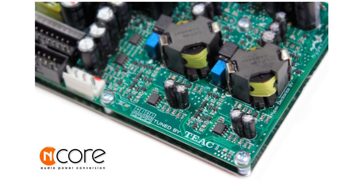 TEAC AP-505 NCore Power Conversion