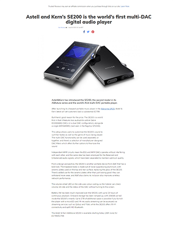 Astell n Kern SE200 Trusted Review