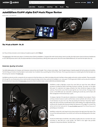 Major Hi-Fi Review