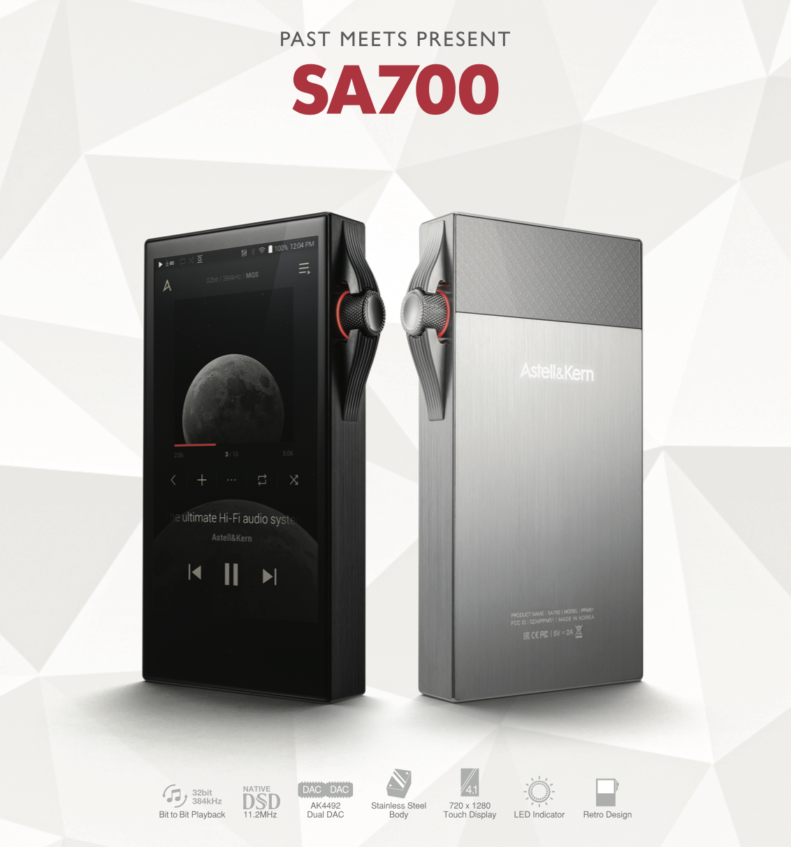 Astell n Kern presents the SA700 music player