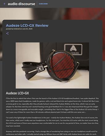 Audio Discourse Review