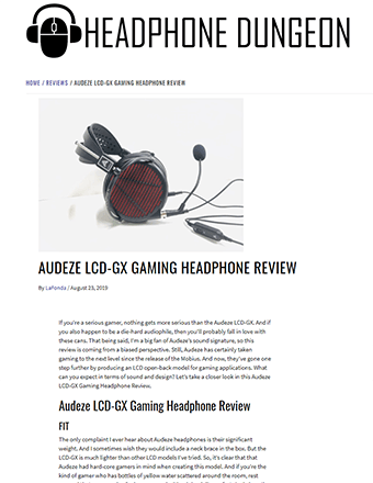 Headphone Dungeon Review