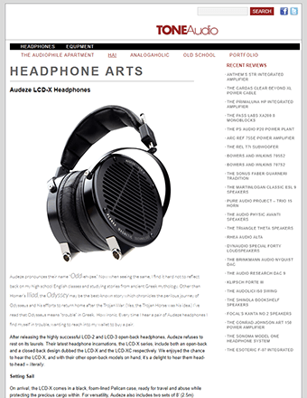 TONE Audio Audeze LCD-X Review