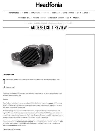 Audeze LCD-1 Headfonia Review