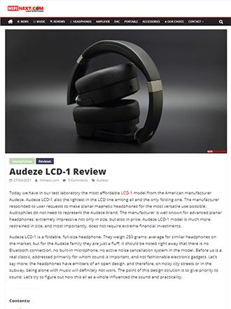 Audeze LCD-1 Review HiFi Next