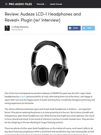 Pro Audio Files Review