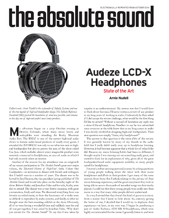Absolute Sound Review