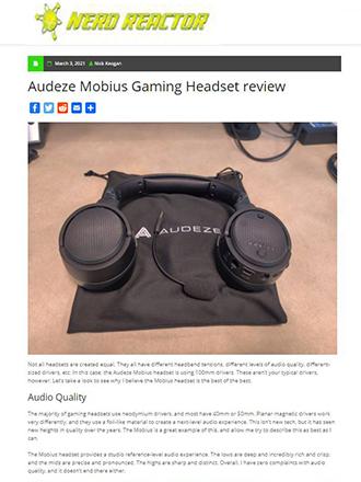 Audeze Mobius Gaming Headset review
