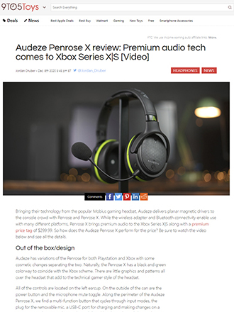 Audeze Penrose Gaming Headphone Review