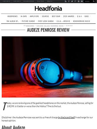 Headfonia Audeze Penrose Gaming Headphone Review