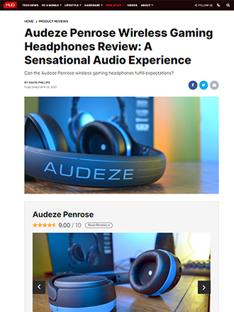 Make Use Of Audeze Penrose Gaming Headphone Review