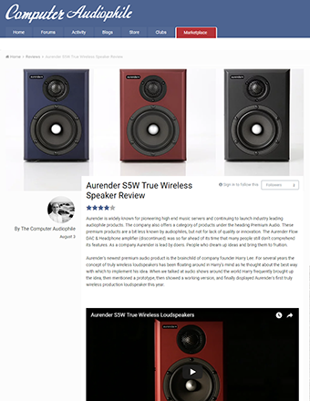 Computer Audiophile Review
