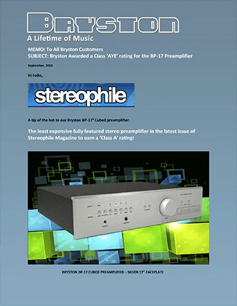 Stereophile Rating