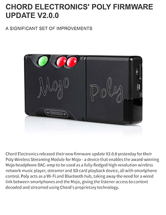 Chord Poly Firmware Updates