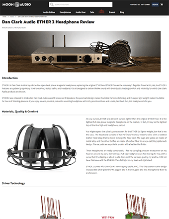 Moon Audio Review
