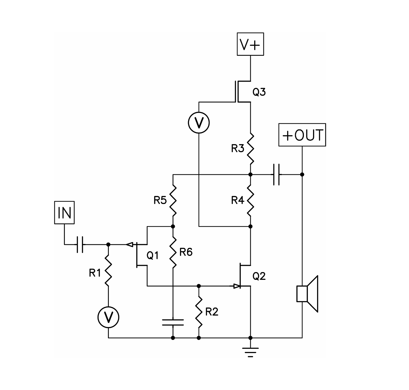 First Watt Schematic