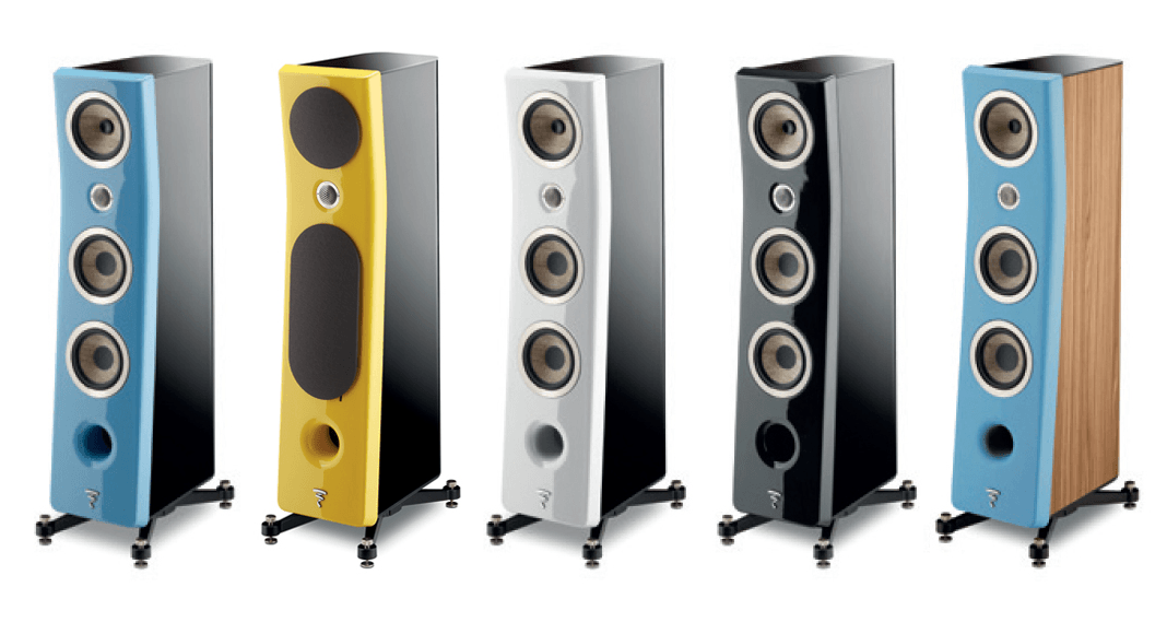 Focal Kanta loudspeaker available colors part one