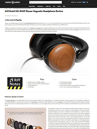 HifiMan HE-R10P Review
