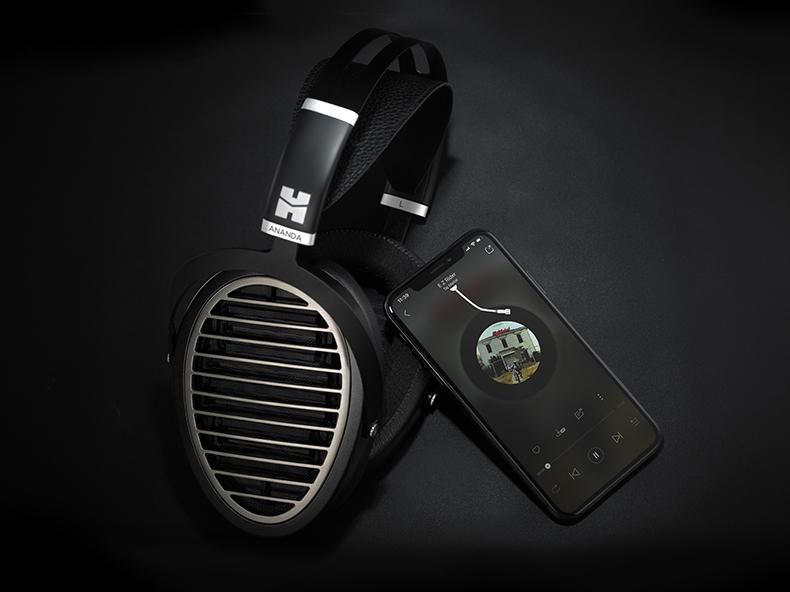 HifiMan Ananda headphones with SuperMini media player
