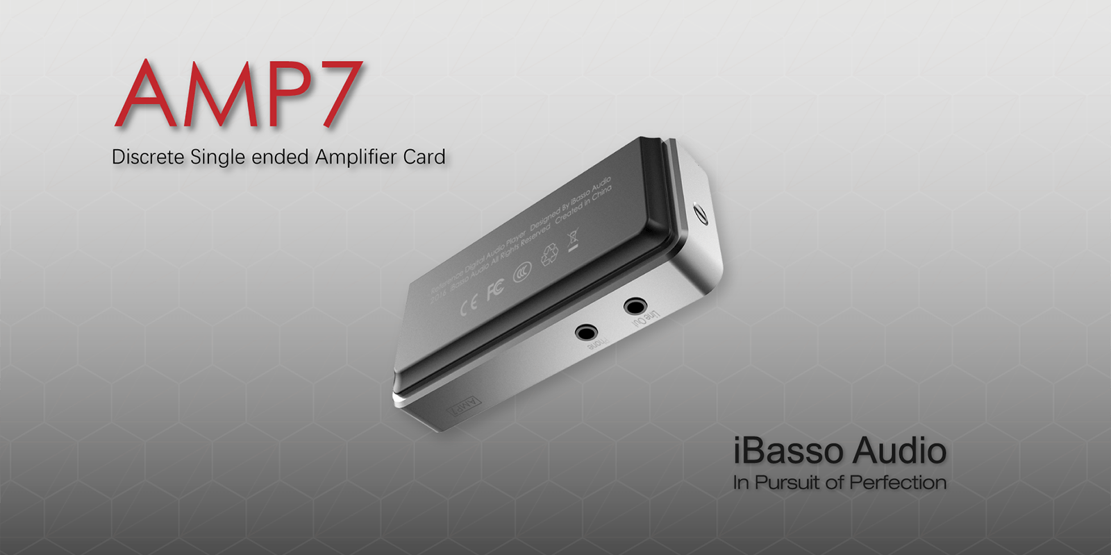 iBasso AMP7 discrete single ended amplifier card