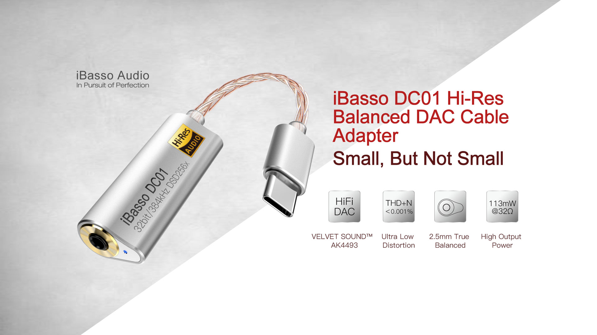 iBasso DC01 features and specifications part 1