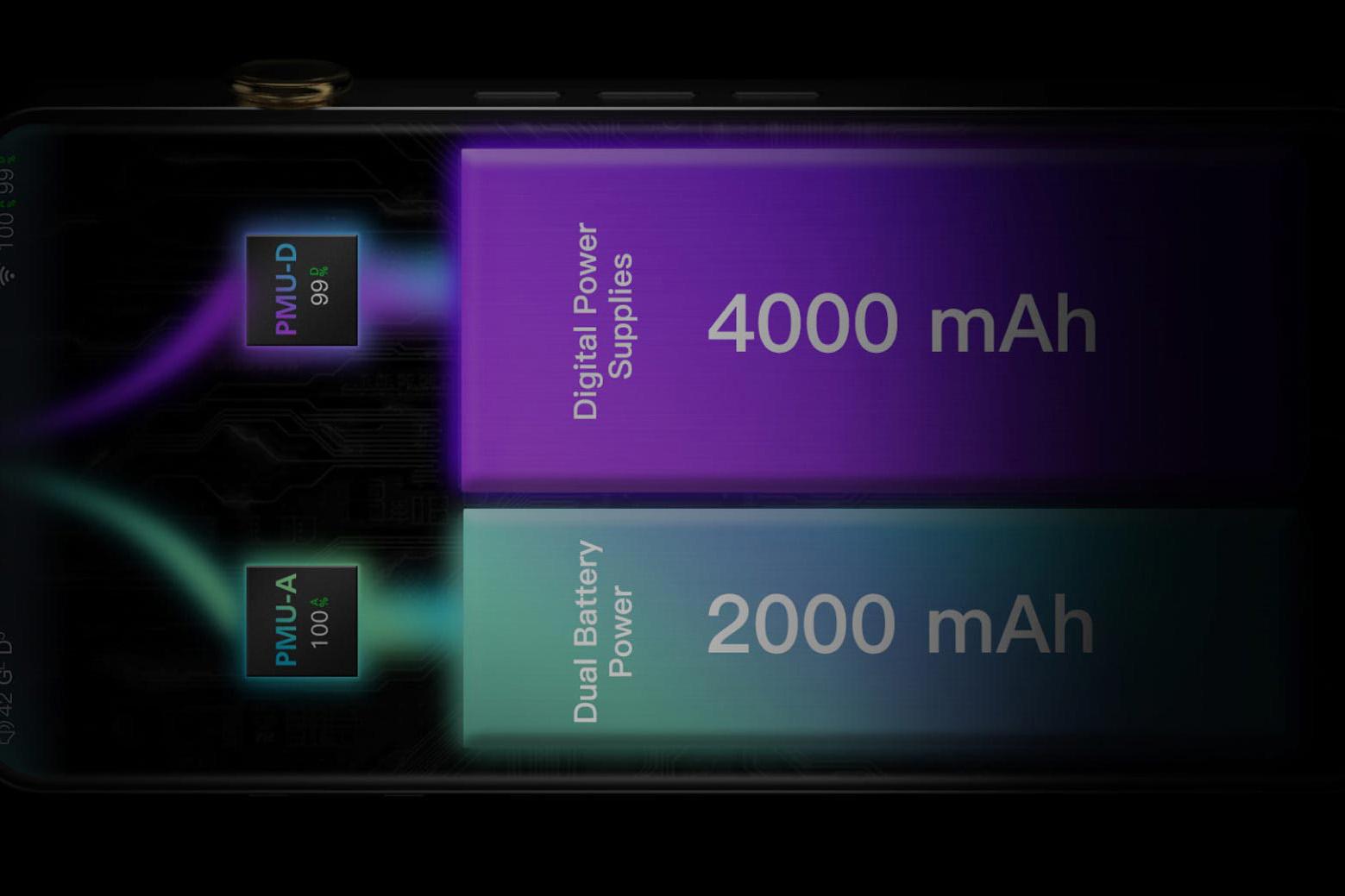 DX300 dual battery design