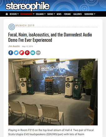 Stereophile Review from High End Munich 2019