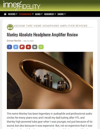 Inner Fidelity Review