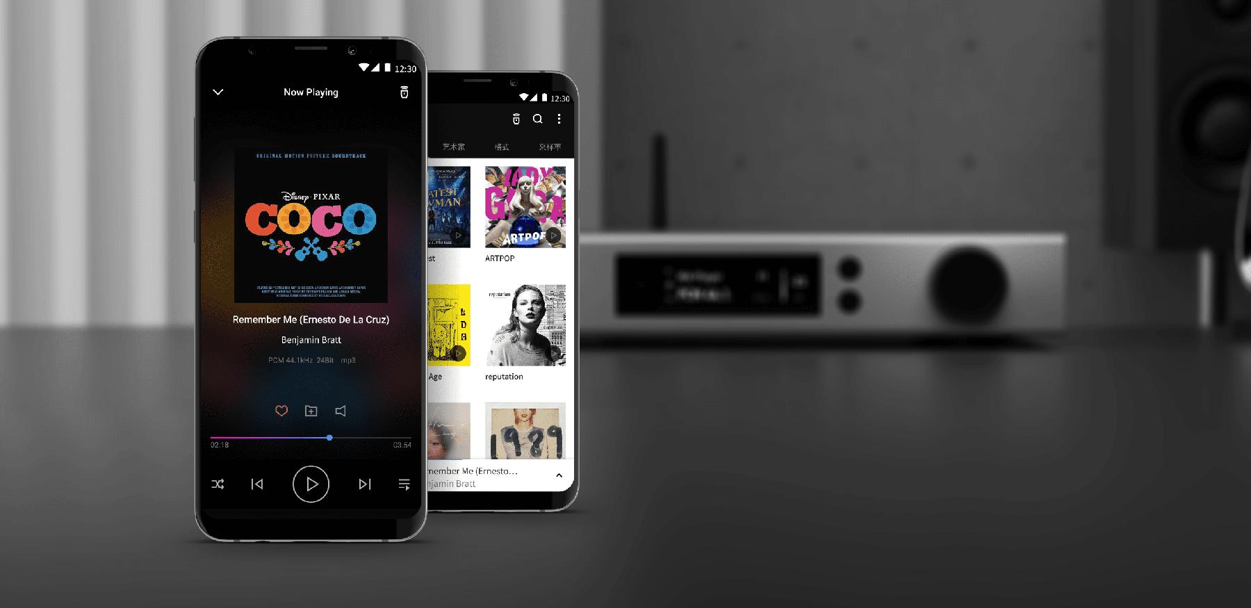 Matrix Audio Remote App screenshots