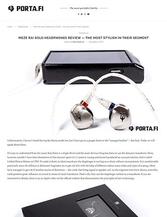 Porta Fi Review