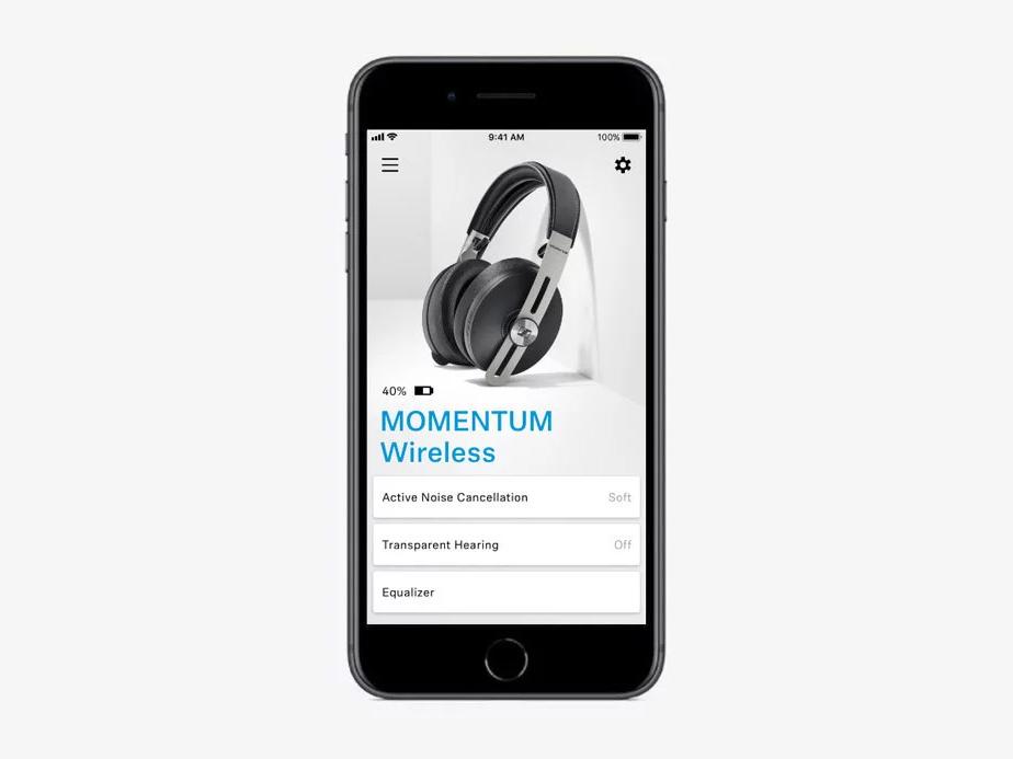 Sennheiser Momentum 3 Wireless Heaphones