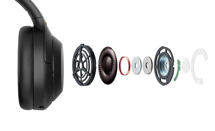 Sony wh1000X M4 headphone breakdown