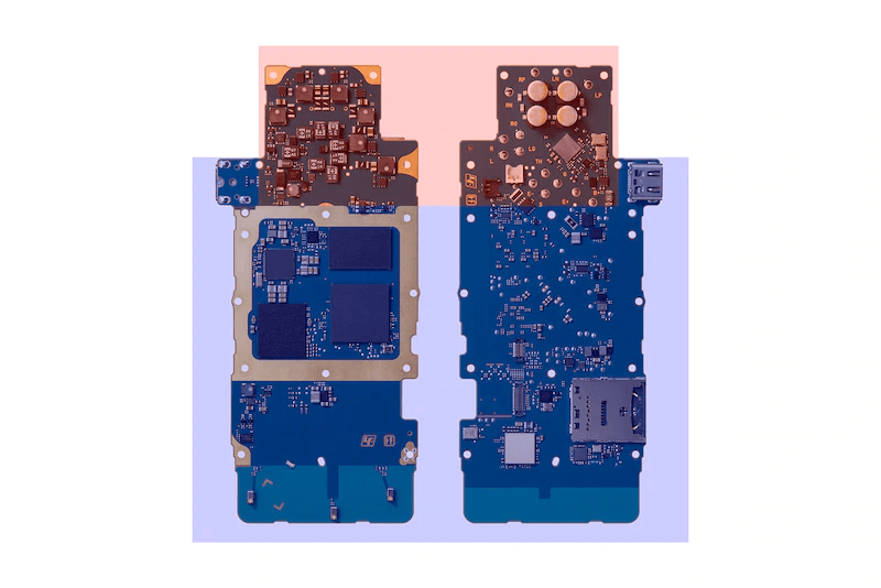 ZX500 circuit boards