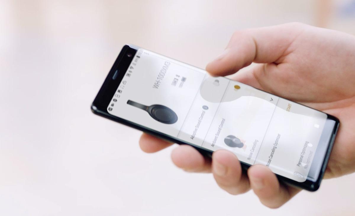 Sony | Headphones Connect App on phone