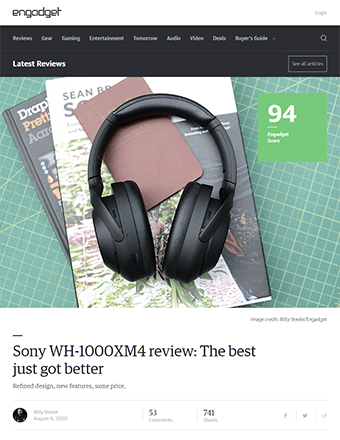 Engadget Review