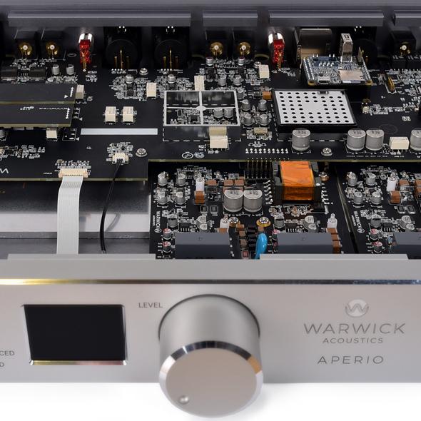 Warwick Aperio circuit board