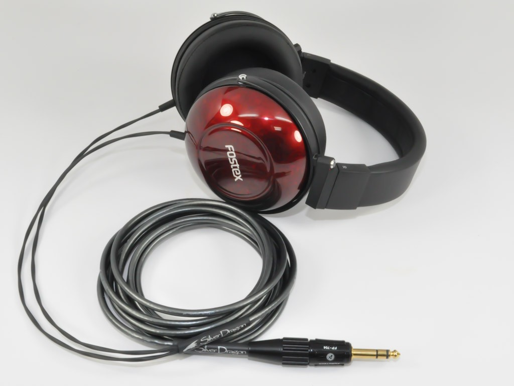 Fostex TH900 headphones hacked by silver dragon