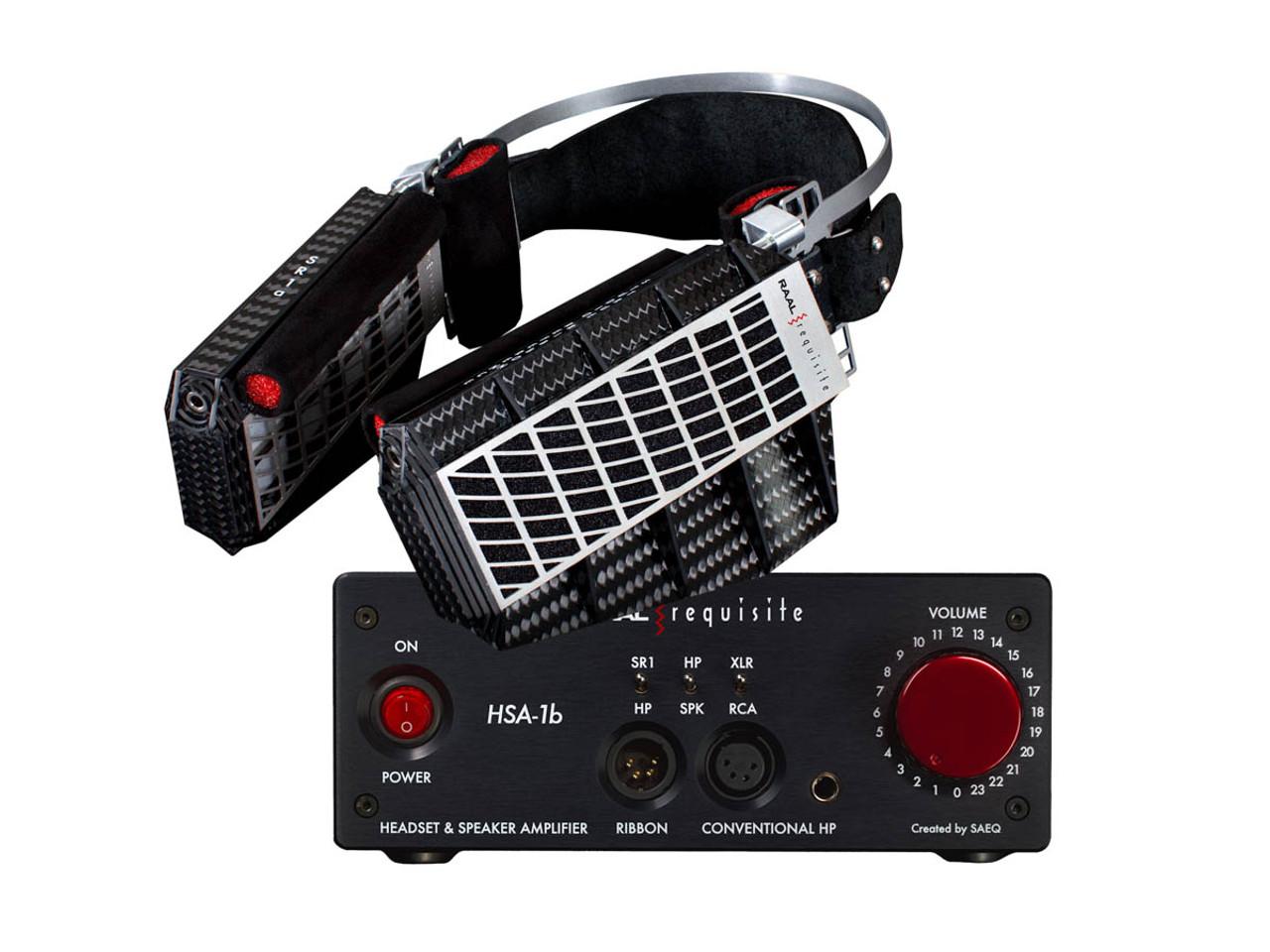 RAAL SR1a + HSA Amp