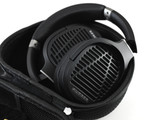 Audeze LCD-1 headphones folded in case
